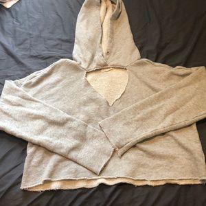 Crop top PacSun hoodie